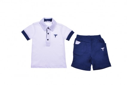 Short sleeve set for boy