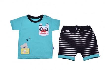 Short sleeve set for boy