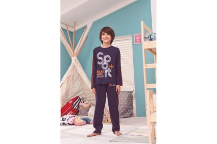 Pajamas long sleeve for boy