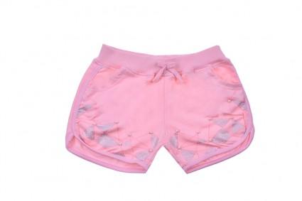 Short pants girl