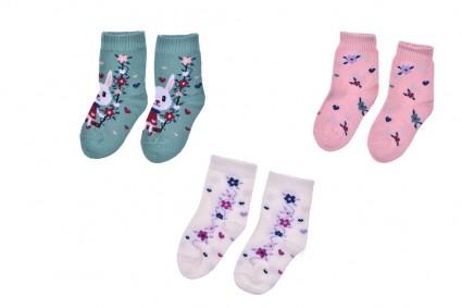 Чорапи момиче 12 броя