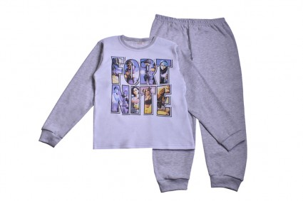 Long sleeve boy pajamas