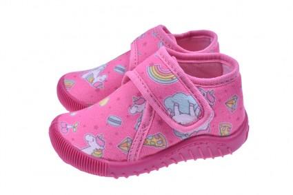 Slippers girl