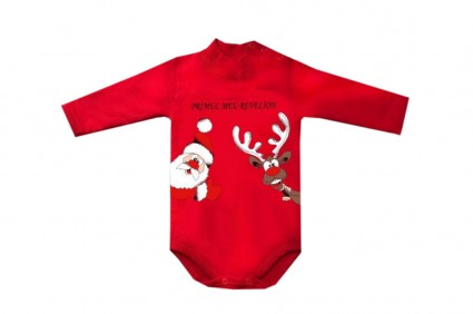 Christmas long sleeve bodysuit