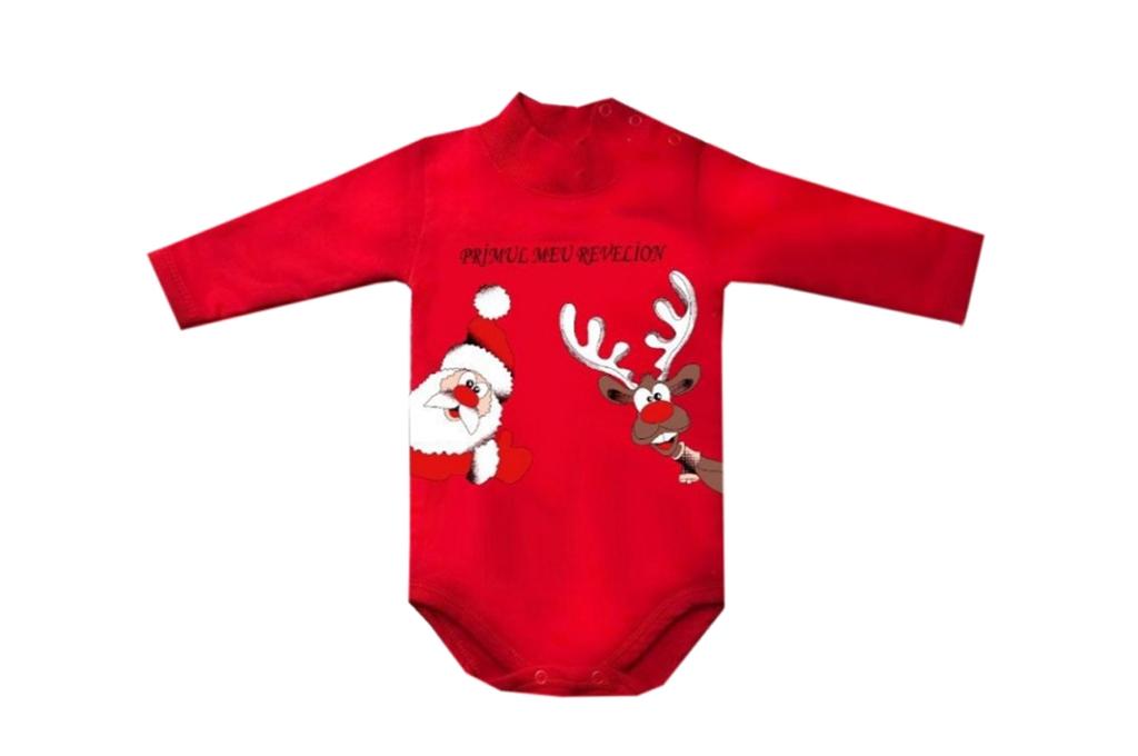 Christmas long sleeve bodysuit