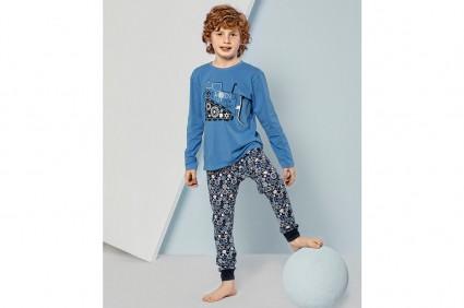 Пижама дълъг ръкав за момче
