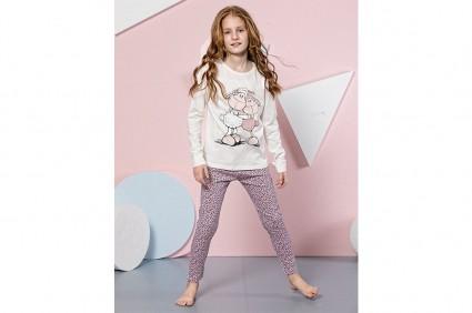 Long sleeve pajamas for girl