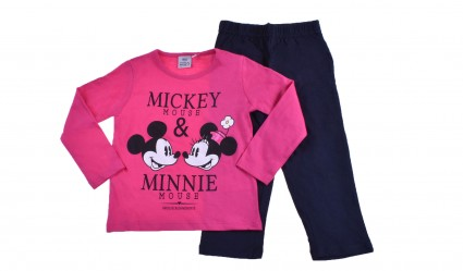 Mickey and minnie mouse long sleeve set