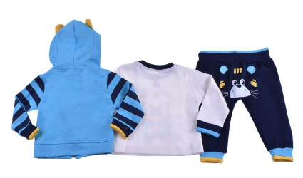 Set long sleeve boy 3 pieces Baby boy clothes