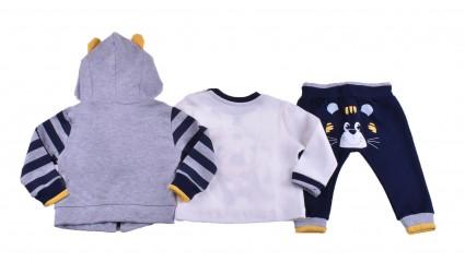 Set long sleeve boy 3 pieces Baby boy clothes