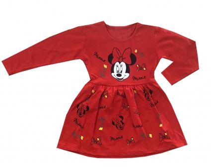 Minnie mouse long sleeve dress