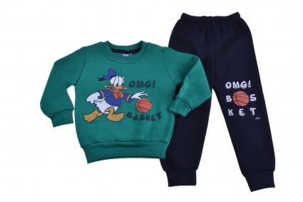 Donald duck long sleeve boy wad set
