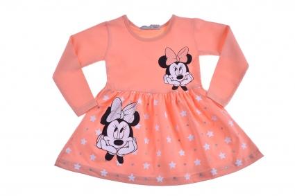 Рокля дълъг ръкав - Minnie Mouse