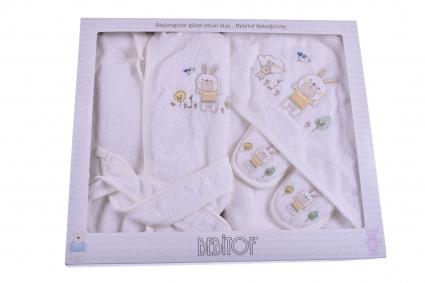 Комплект за баня с халат Baby boy