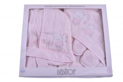 Комплект за баня с халат момиче