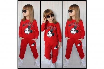 Комплект дълъг ръкав момиче - Mickey Mouse