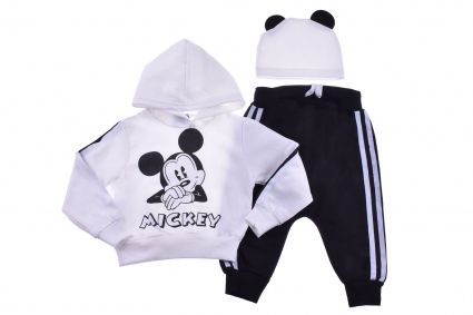 3-piece mickey mouse long sleeve set