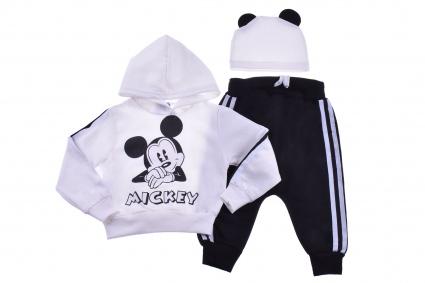 Комплект дълъг ръкав 3 части - Mickey Mouse