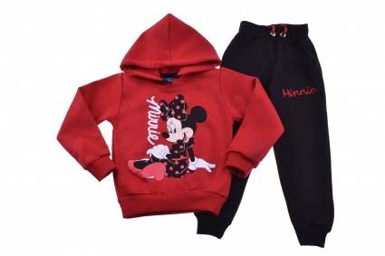 Minnie mouse long sleeve girl wad set