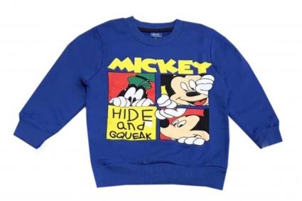 Blouse boy long sleeve mickey mouse