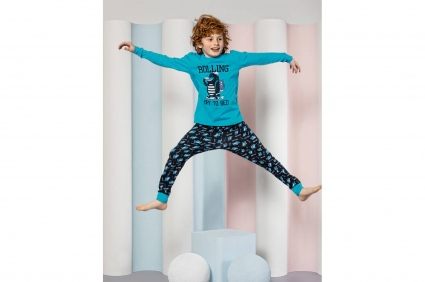 Long sleeve pajamas for boy