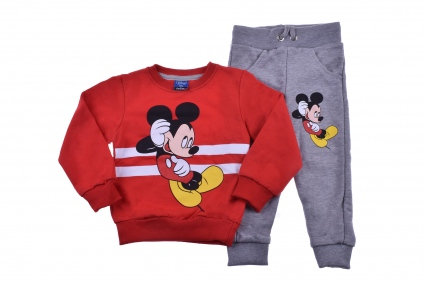 Mickey mouse long sleeve boy wad set