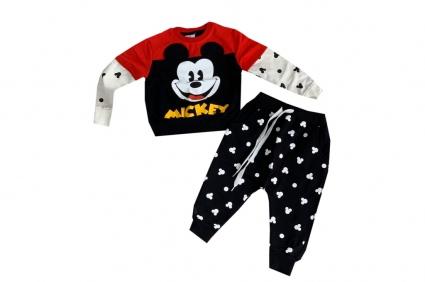 Mickey mouse long sleeve boy set