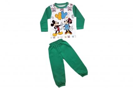 Пижама дълъг ръкав момиче - Mickey and Minnie mouse