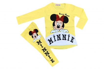 Minnie mouse long sleeve set