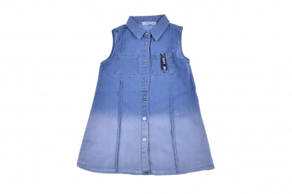 A denim tunic