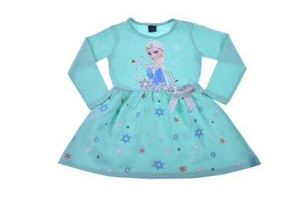 Elsa and ana frozen dress long sleeve dress