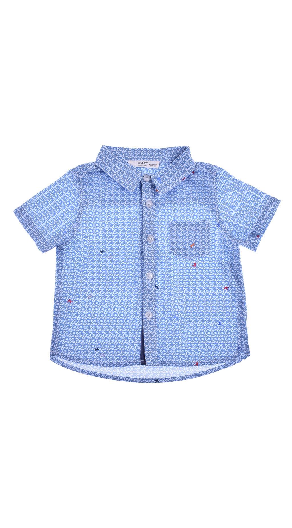Риза къс ръкав момче