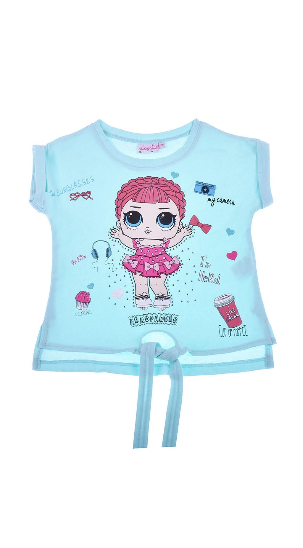Тениска момиче LOL
