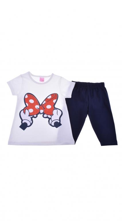 Комплект къс ръкав момиче - Mickey Mouse