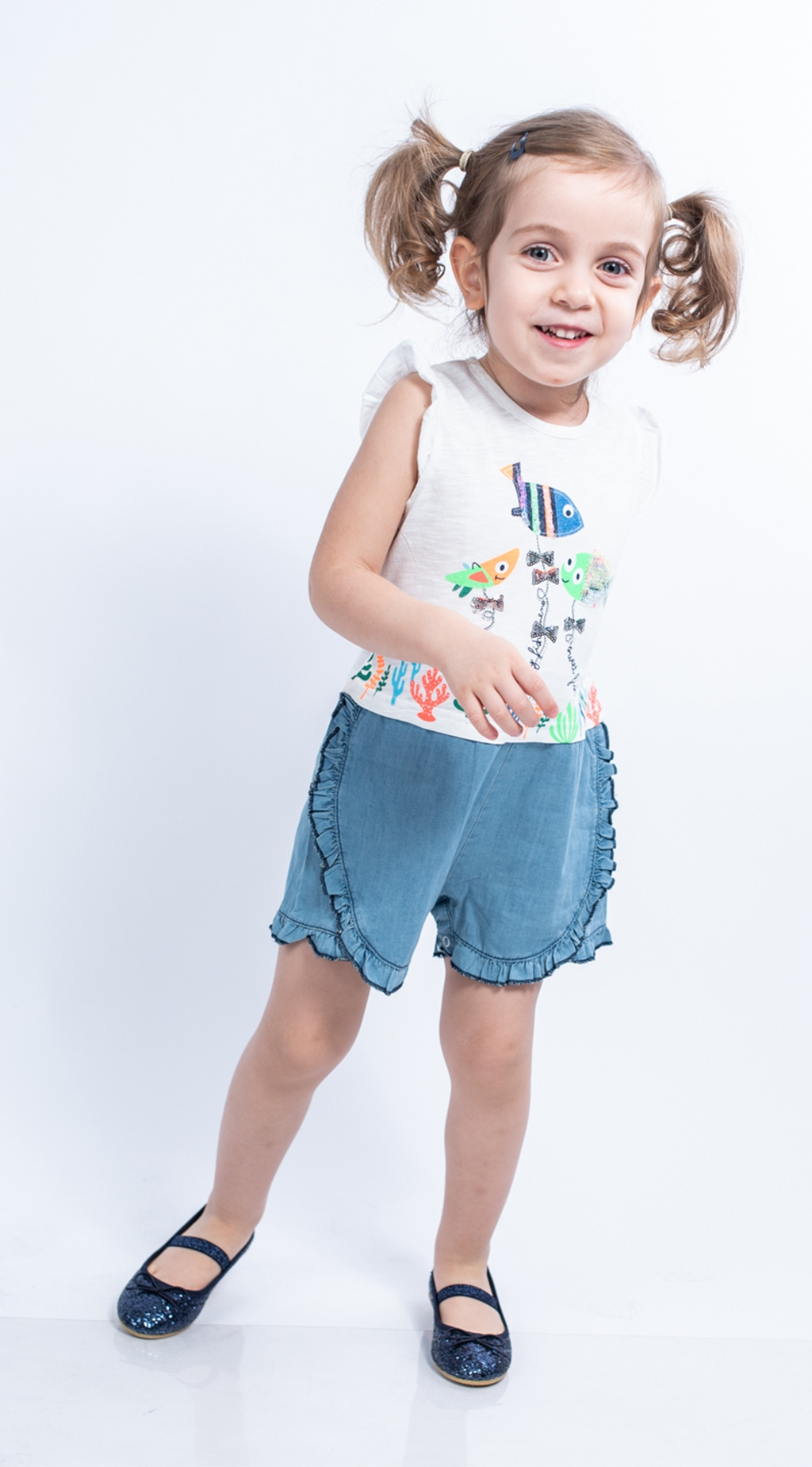 Jumpsuit short sleeve girl