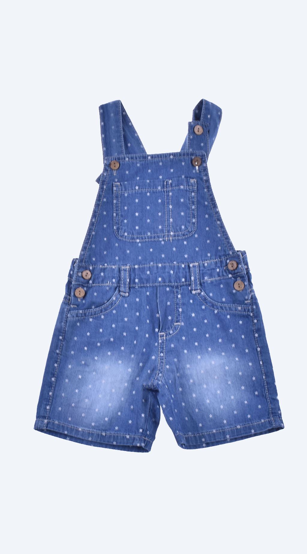 Denim jumpsuit girl
