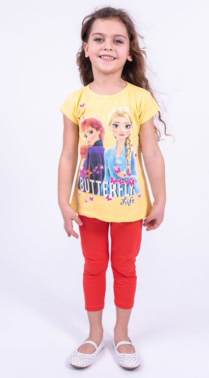 Тениска момиче - Елза и Анна