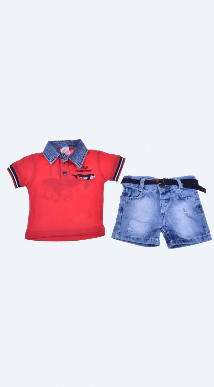 Short sleeve boy set