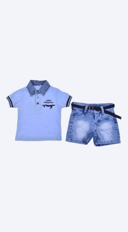 Short sleeve boy set