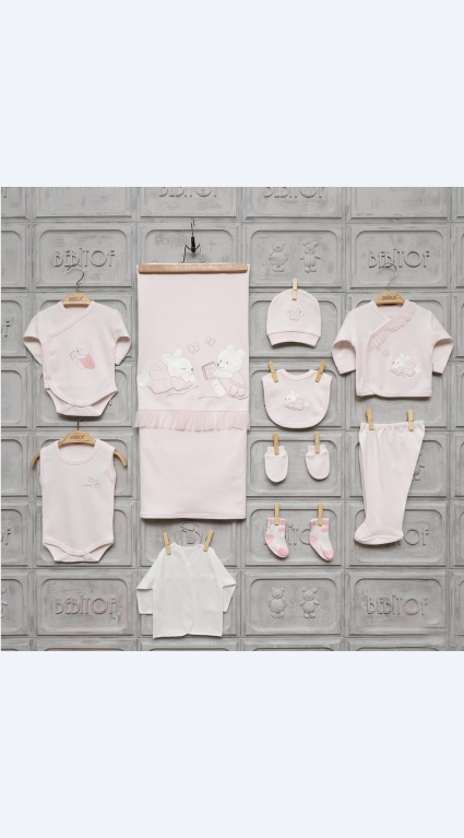 Комплект за изписване 10 части момиче Baby Girl