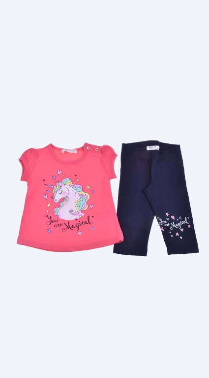 Short sleeve girl set