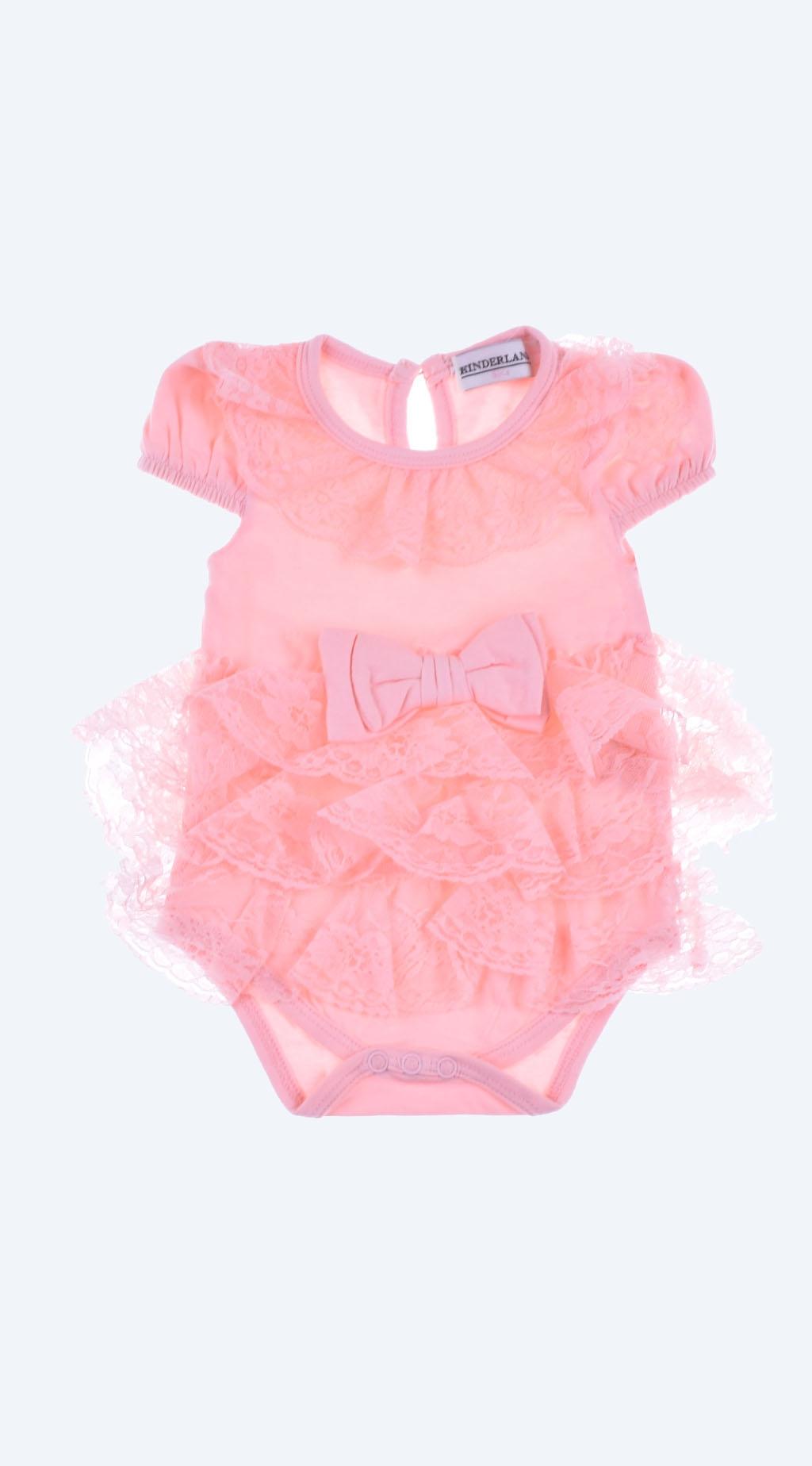 Боди-рокля къс ръкав Baby Girl