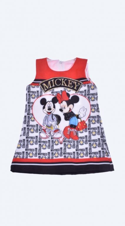 Рокля - Minnie and Mickey Mouse