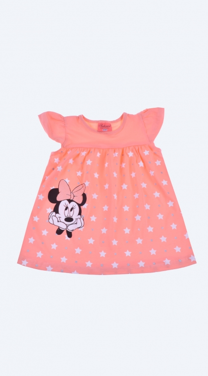 Minnie mouse short sleeve tunic