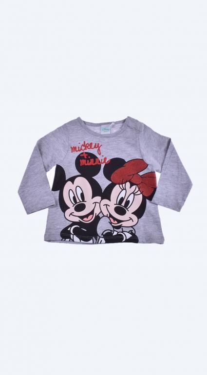 Блуза момиче дълъг ръкав - Mickey Mouse