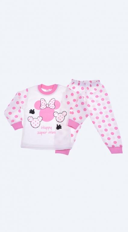 Пижама дълъг ръкав момиче - Mickey Mouse