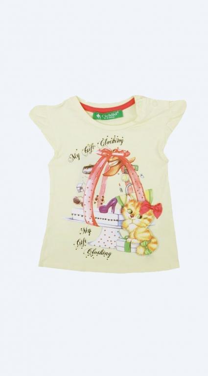 Тениска с коте