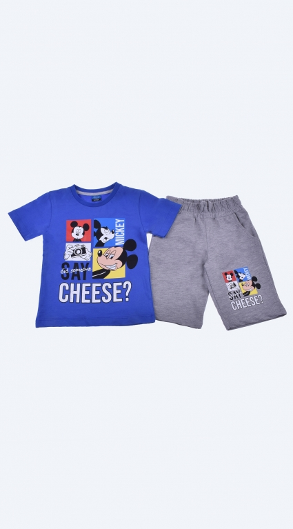 Mickey mouse short sleeve set