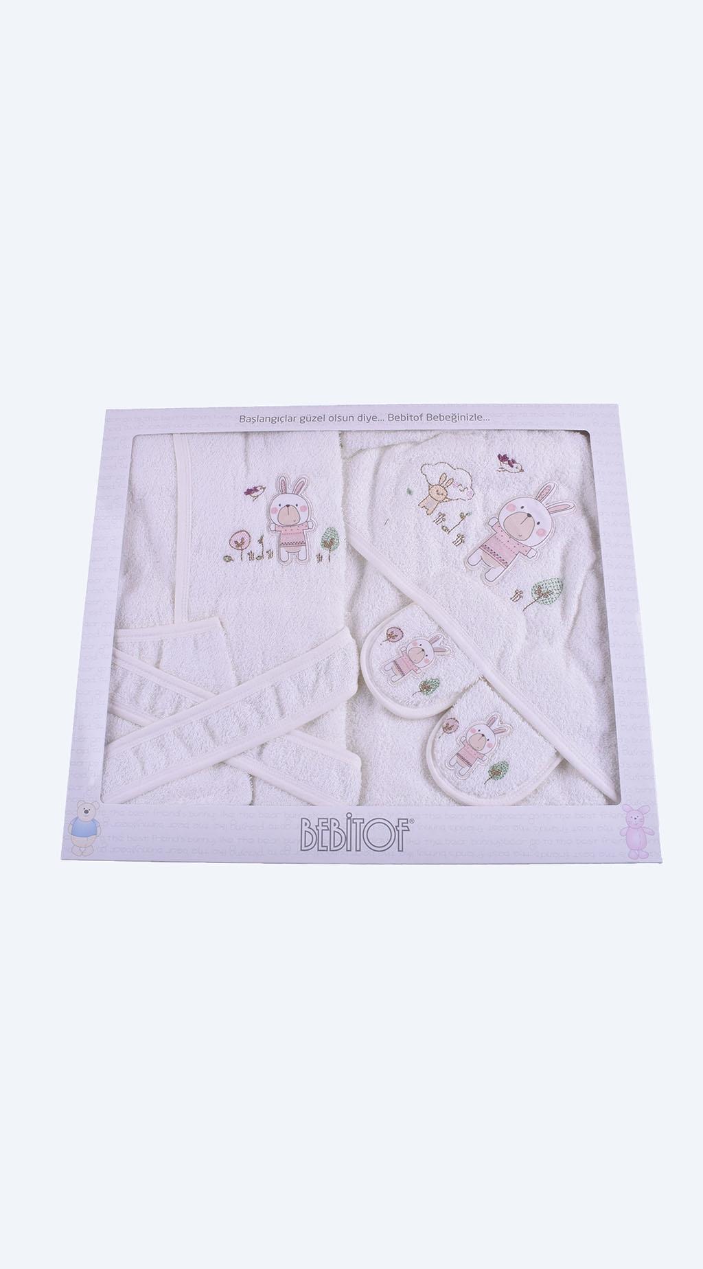 Комплект за баня с халат момиче Baby Girl