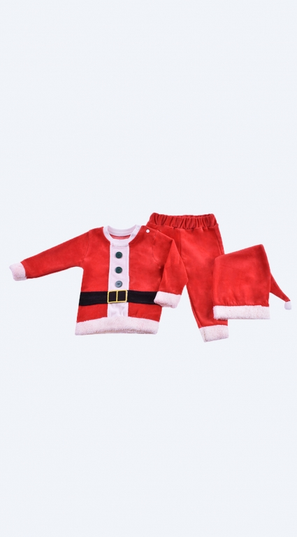 Christmas long sleeve set with hat